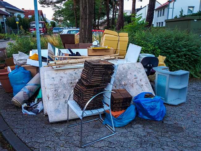 Sperrmüllentsorgung | CA Recycling